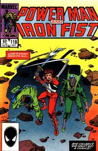 Cover Thumbnail for Power Man and Iron Fist (Marvel, 1981 series) #118 [direct]