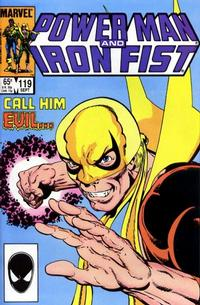Cover Thumbnail for Power Man and Iron Fist (Marvel, 1981 series) #119 [direct]