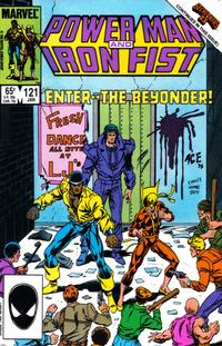 Cover for Power Man and Iron Fist (Marvel, 1981 series) #121 [Canadian newsstand edition]
