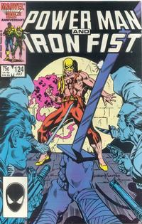 Cover Thumbnail for Power Man and Iron Fist (Marvel, 1981 series) #124 [direct]
