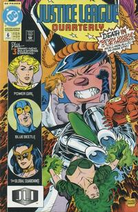 Cover Thumbnail for Justice League Quarterly (DC, 1990 series) #6 [Direct]