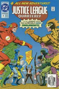 Cover Thumbnail for Justice League Quarterly (DC, 1990 series) #8 [Direct]