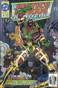 Cover Thumbnail for Justice League Quarterly (DC, 1990 series) #12 [Direct]