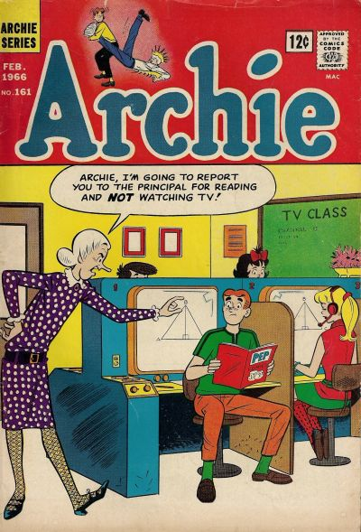 Cover for Archie (Archie, 1959 series) #161