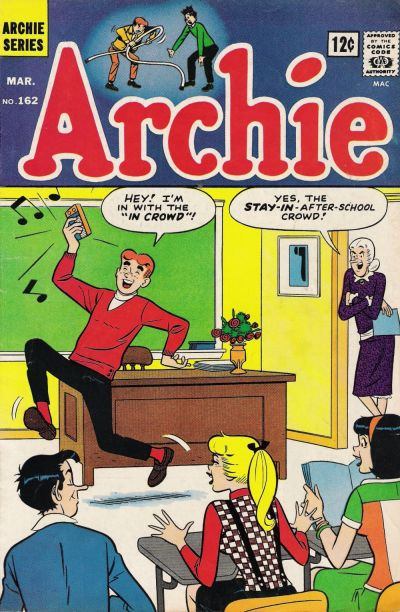Cover for Archie (Archie, 1959 series) #162