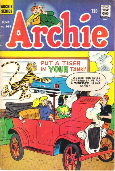 Cover for Archie (Archie, 1959 series) #164