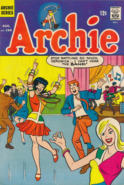 Cover for Archie (Archie, 1959 series) #166