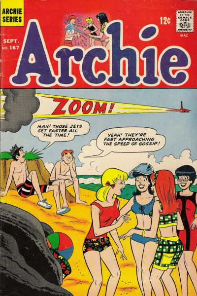 Cover for Archie (Archie, 1959 series) #167