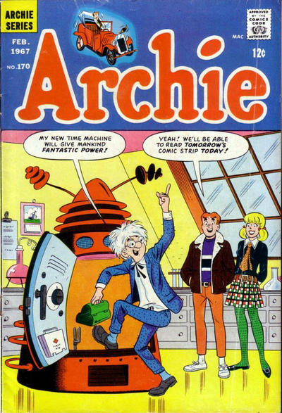 Cover for Archie (Archie, 1959 series) #170