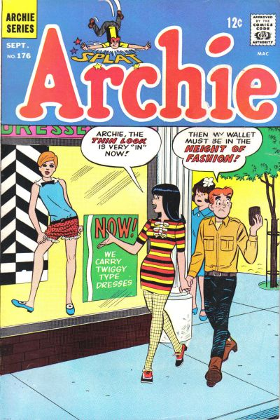 Cover for Archie (Archie, 1959 series) #176