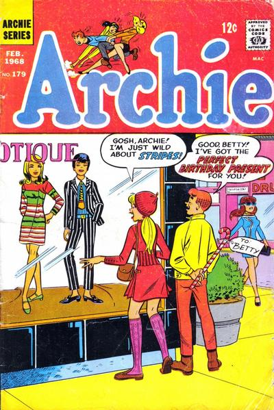 Cover for Archie (Archie, 1959 series) #179