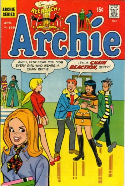 Cover for Archie (Archie, 1959 series) #199