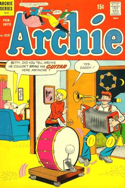 Cover for Archie (Archie, 1959 series) #215