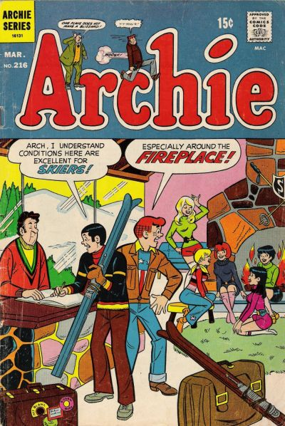 Cover for Archie (Archie, 1959 series) #216