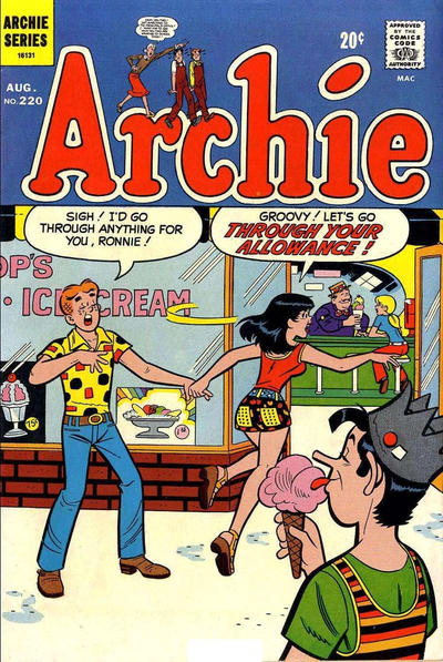 Cover for Archie (Archie, 1959 series) #220