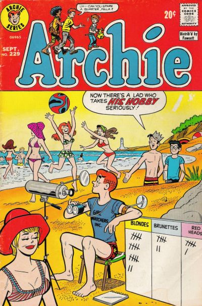 Cover for Archie (Archie, 1959 series) #229
