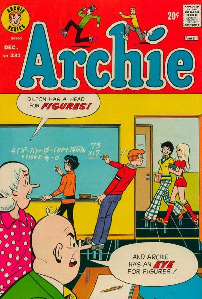 Cover for Archie (Archie, 1959 series) #231