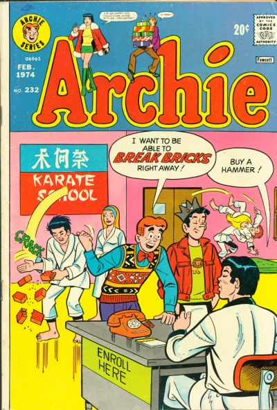 Cover for Archie (Archie, 1959 series) #232
