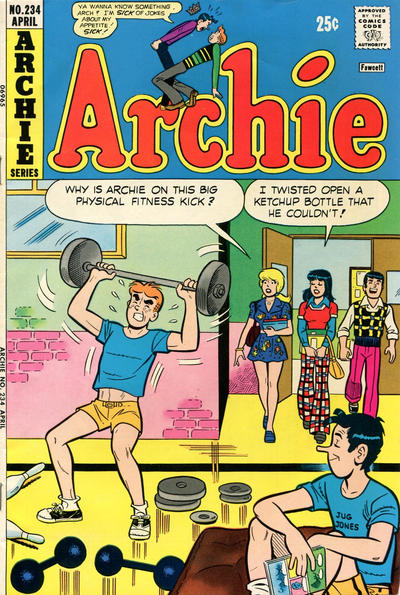 Cover for Archie (Archie, 1959 series) #234