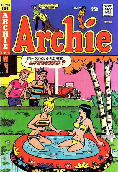 Cover for Archie (Archie, 1959 series) #238