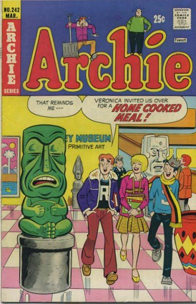 Cover for Archie (Archie, 1959 series) #242