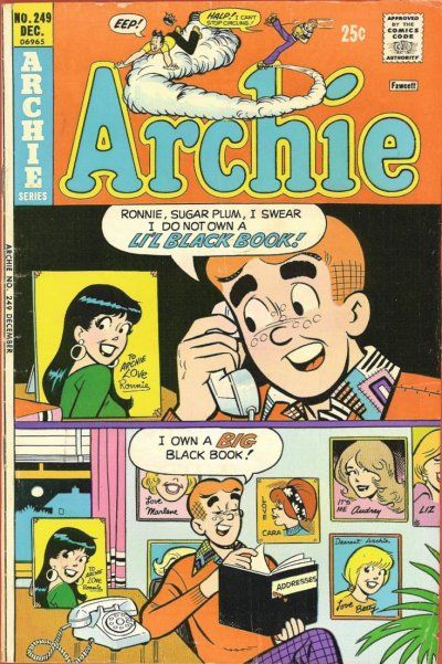 Cover for Archie (Archie, 1959 series) #249