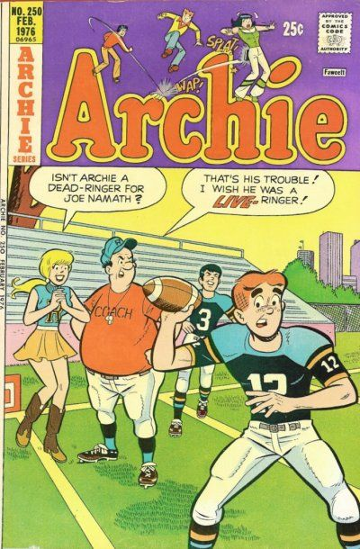 Cover for Archie (Archie, 1959 series) #250