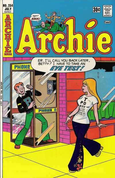 Cover for Archie (Archie, 1959 series) #254