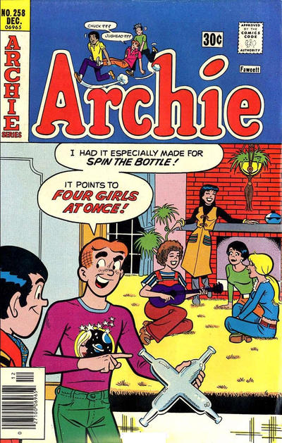 Cover for Archie (Archie, 1959 series) #258