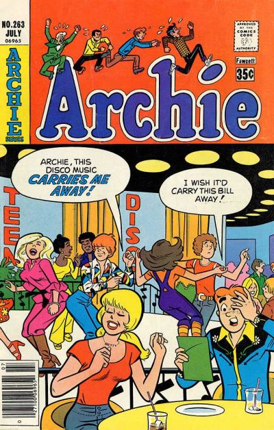 Cover for Archie (Archie, 1959 series) #263