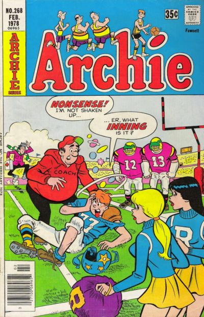 Cover for Archie (Archie, 1959 series) #268