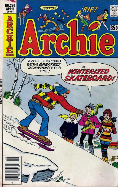 Cover for Archie (Archie, 1959 series) #270
