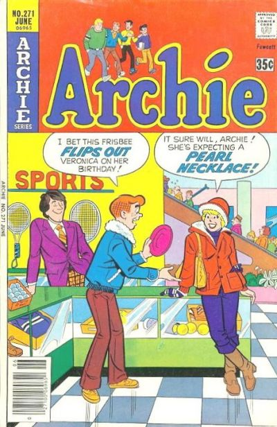 Cover for Archie (Archie, 1959 series) #271