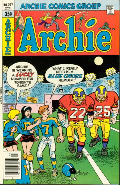 Cover for Archie (Archie, 1959 series) #277