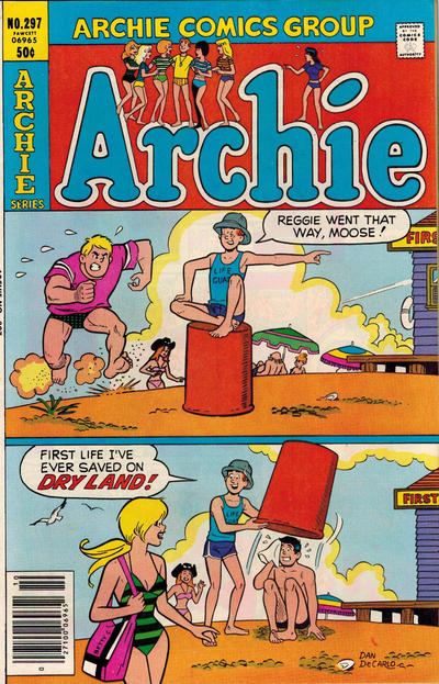 Cover for Archie (Archie, 1959 series) #297