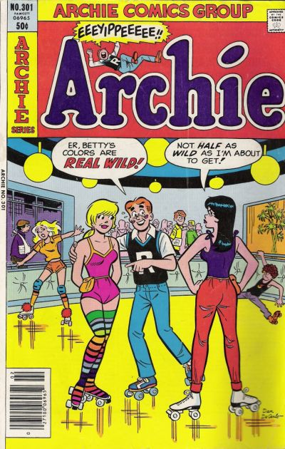 Cover for Archie (Archie, 1959 series) #301
