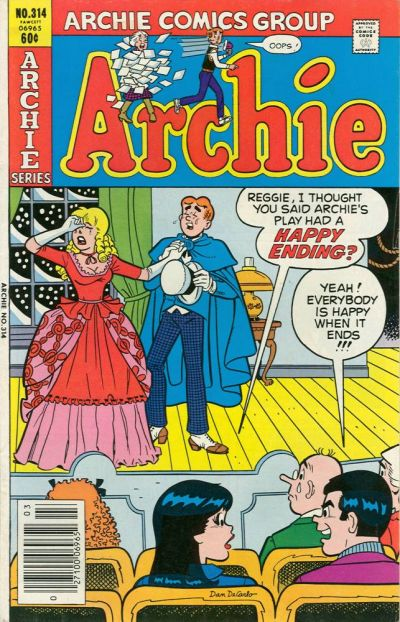 Cover for Archie (Archie, 1959 series) #314