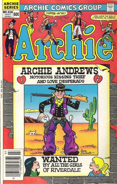 Cover for Archie (Archie, 1959 series) #324