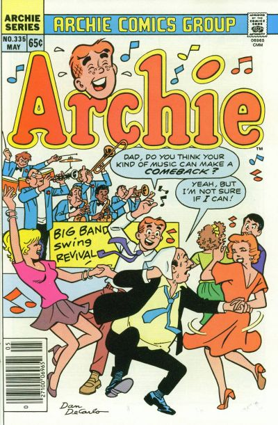 Cover for Archie (Archie, 1959 series) #335