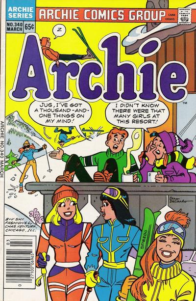 Cover for Archie (Archie, 1959 series) #340