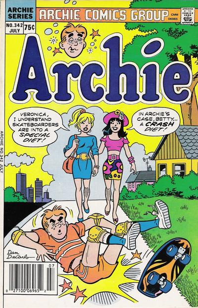 Cover for Archie (Archie, 1959 series) #342