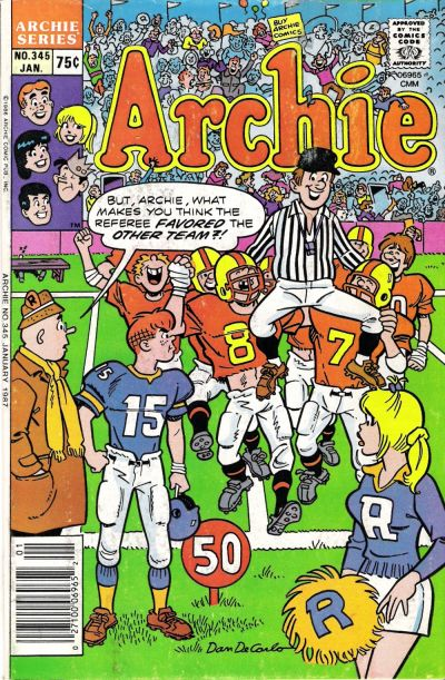 Cover for Archie (Archie, 1959 series) #345