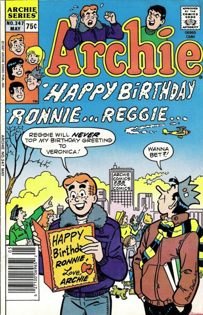 Cover for Archie (Archie, 1959 series) #347