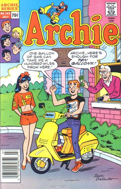 Cover for Archie (Archie, 1959 series) #349