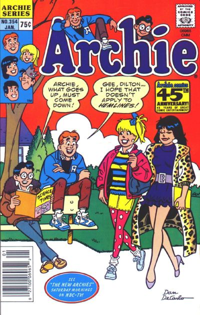 Cover for Archie (Archie, 1959 series) #354