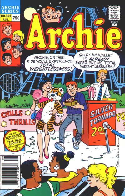 Cover for Archie (Archie, 1959 series) #359