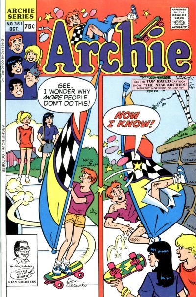 Cover for Archie (Archie, 1959 series) #361