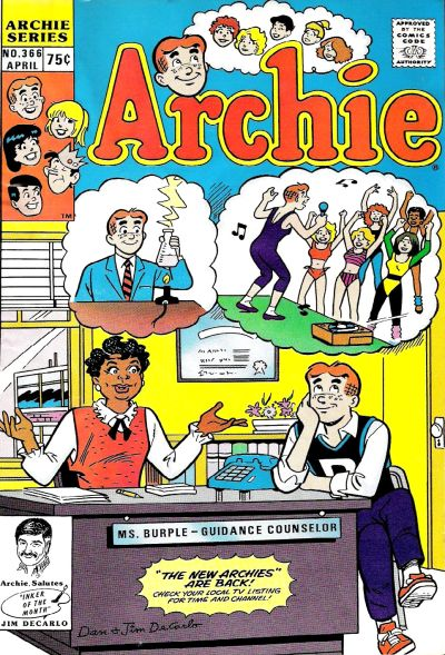 Cover for Archie (Archie, 1959 series) #366