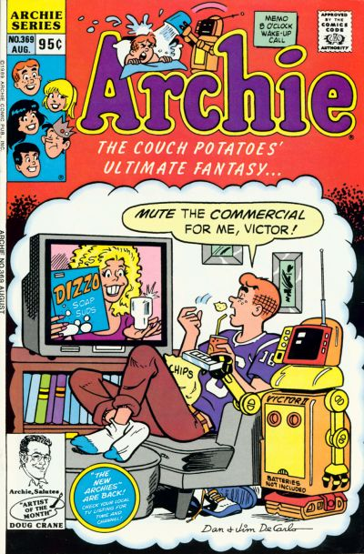 Cover for Archie (Archie, 1959 series) #369