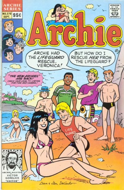 Cover for Archie (Archie, 1959 series) #370